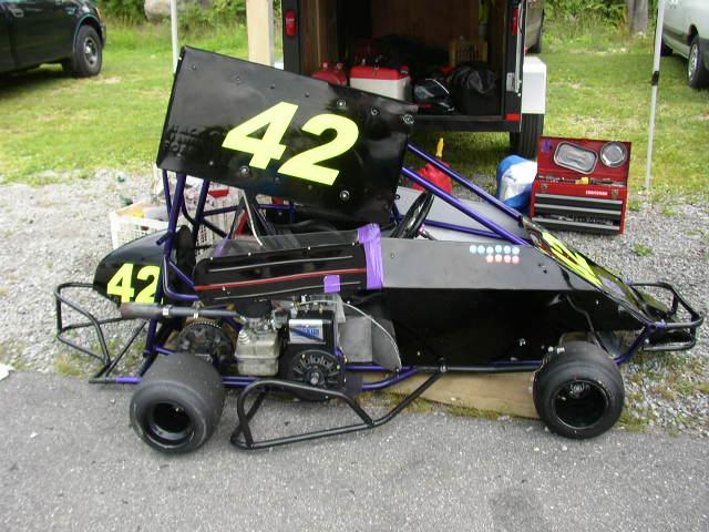 Fancy Racing Go Kart Frame For Sale Image